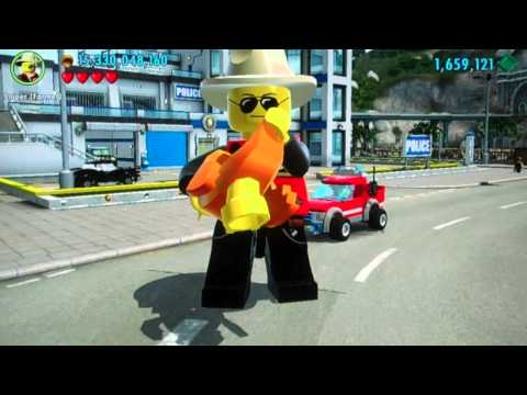 Lego City Undercover - Recreating Team Fortress 2 Classes