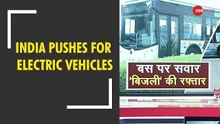 Electric vehicles to curb pollution in India