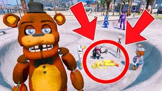 WHAT HAPPENED TO CHICA? GUESS WHO DID THIS TO HER? (GTA 5 Mods For Kids FNAF Funny Moments)