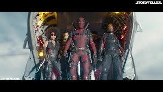 Deadpool 2 (2018)   X-Force Skydiving Scene 1080p