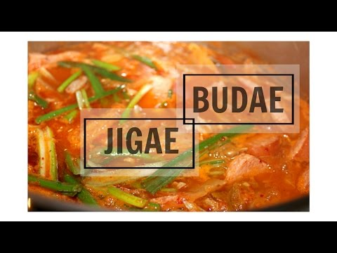Korean Stew - Budae Jigae - Korean Army Stew