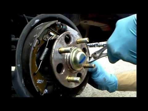 Fixing a Rear Brake Squeak