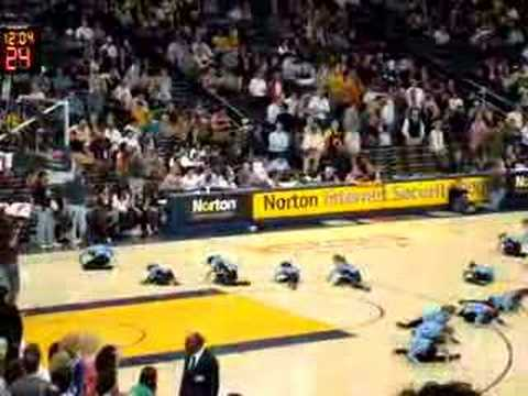 Kirkpatricks Dance Team at Warriors