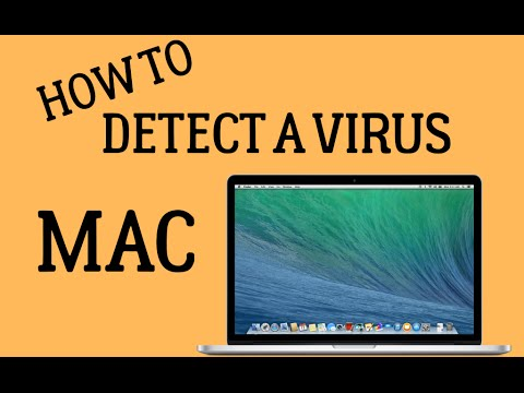How To Detect a VIRUS on Mac *2016*