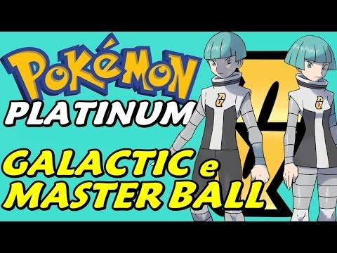 Pokémon Platinum (Detonado - Parte 21) - O Esconderijo da Team Galactic e Master Ball