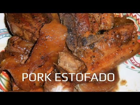 PORK ESTOFADO