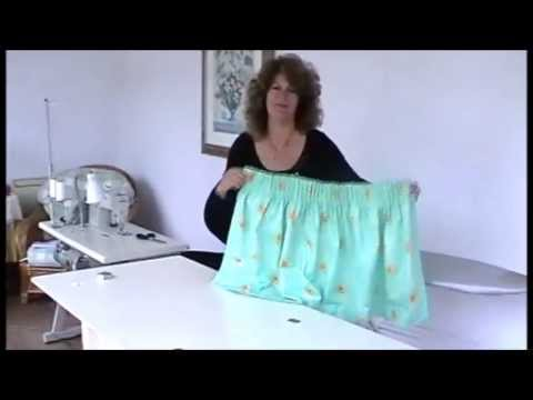 HOW TO MAKE PENCIL PLEAT CURTAINS - Youtube video