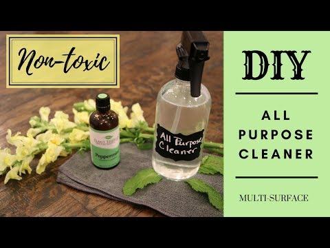 How to Make All Natural All Purpose Cleaner | DIY All Purpose Cleaner