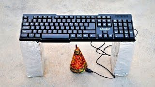 Keyboard VS Big Diwali Anaar | Crazy Experiment |