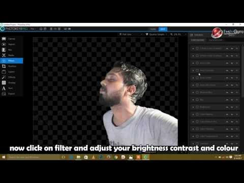 PhotoKey 8 Pro | How to make png | Tech Guru