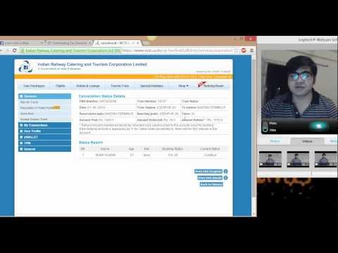How to cancel Railway ticket by IRCTC