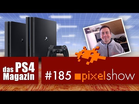 PS4.Magazin pixelshow #185 News.Fragen.Neuerscheinungen [PlayStation 4]