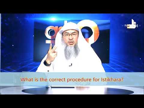 What is the correct procedure for praying Istikhara?   Sheikh Assim Al Hakeem