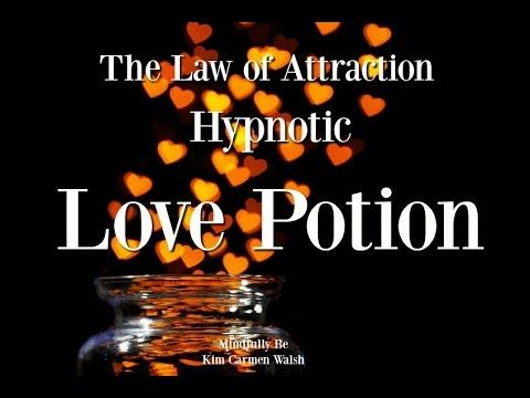 😴 ASMR hypnotic Love Potion ~ Law of Attraction ~ Sleep hypnosis