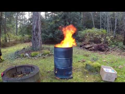 Easy Burn Barrel