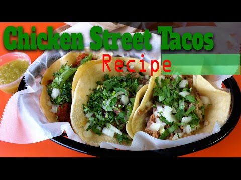 Simple Authentics Chicken Street Tacos Recipe