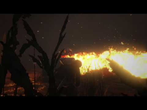 Rise of the Tomb Raider tip to kill enemy with fire gun