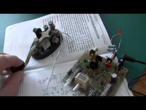 1 Watt ham transmitter kit assembly and testing