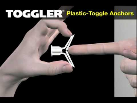 Plastic Toggle Anchors