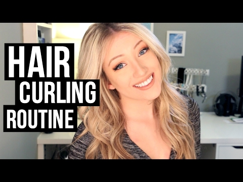 HOW TO CURL YOUR HAIR | Beach Waves
