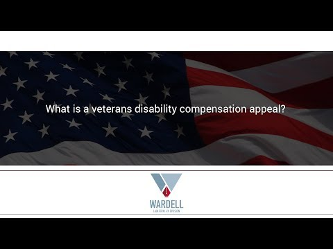 What is a veterans disability compensation appeal?