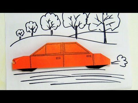 How To Make A Luxury Car Origami - DIY Crafts Tutorial - Guidecentral