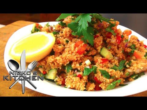 Turkish Couscous Salad (Kısır) - Video Recipe