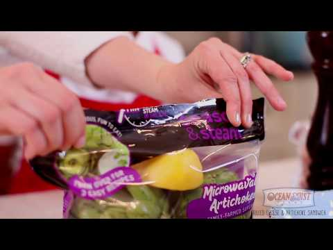 How to Make a Grilled Cheese & Artichoke Sandwich - The Produce Mom