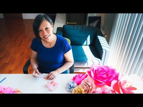 Easy to Make PAPER ROSES - DIY Project