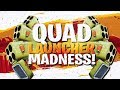 QUAD LAUNCHER MADNESS SKULL RANGER SOLO WIN Fortnite BR Full Match