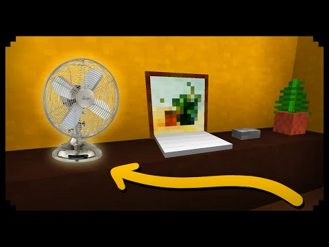✔ Minecraft: How to make a Fan
