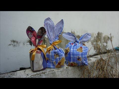 ฺีืืั ฺDIY Bunny Bags Sewing Tutorial