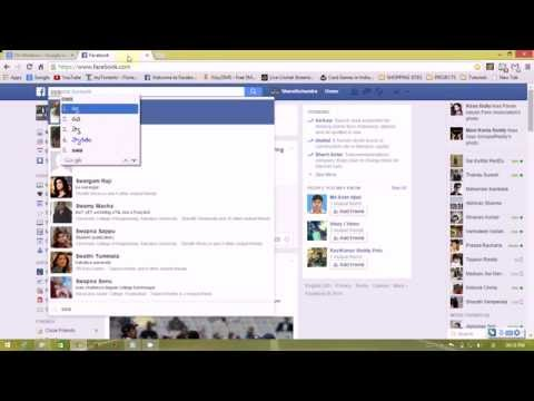How to type telugu in facebook without using any software