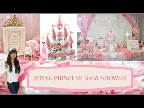 DIY Royal Princess Baby Shower | Angie Lowis
