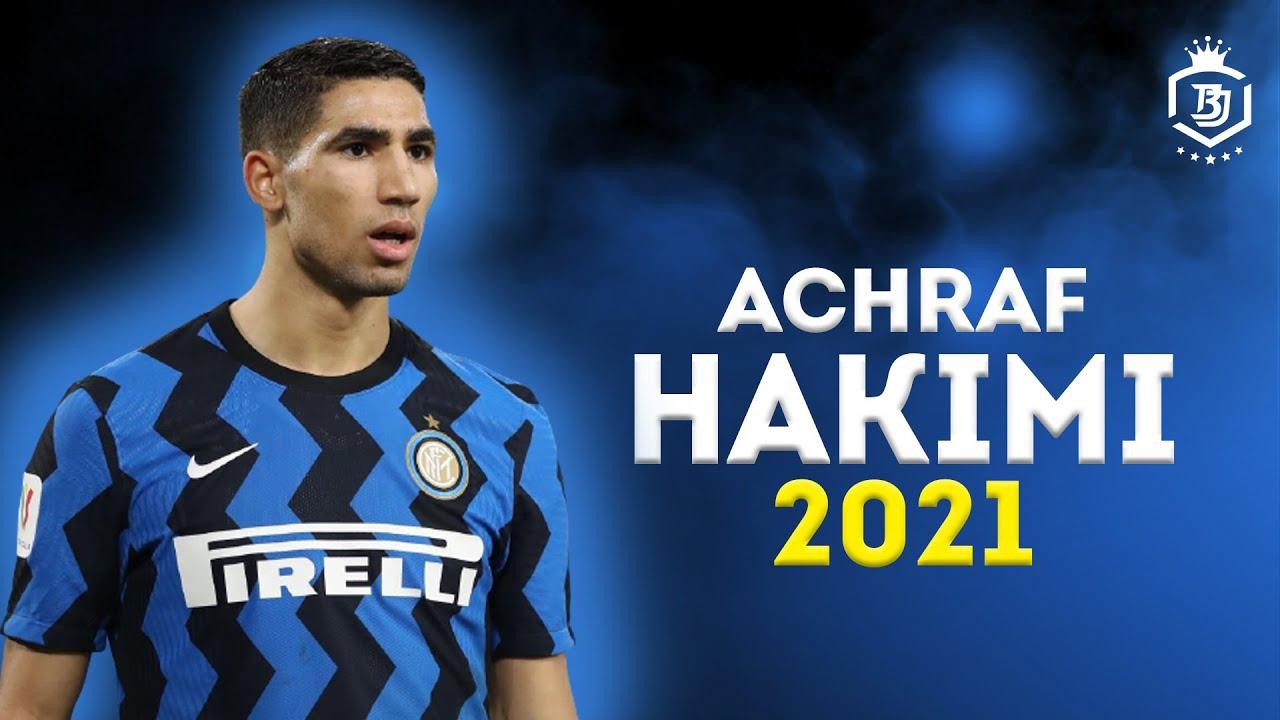 Achraf Hakimi 2021 - Amazing Defensive Skills Runs & Goals - HD