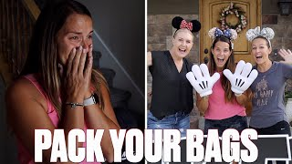 SURPRISING MY WIFE WITH A GIRLS TRIP TO DISNEYLAND FOR HER BIRTHDAY | MOM EMOTIONAL DISNEY SURPRISE