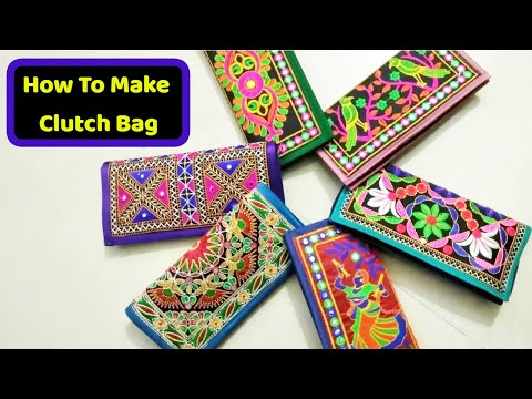super new Clutch bag make at home Diy|how to make stylish clutch in hindi like amazon,flipkart| 2018