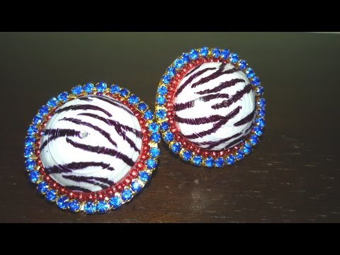57. How to make Quilling Stud Earrings