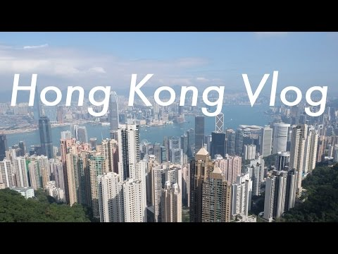 Hong Kong's Victoria Peak + Riding the Star Ferry   Travel Vlog
