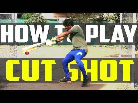 How to play CUT SHOT ? | Cricket Batting Tips | Nothing But Cricket