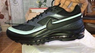 ed17232fcc Nike Air Max 97/BW Black/Black- METALLIC Hematite Sneakers Trainers Unboxing