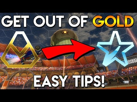 How To Get Into PLATINUM!! | Tips For Gold Players! Rocket League Tips!