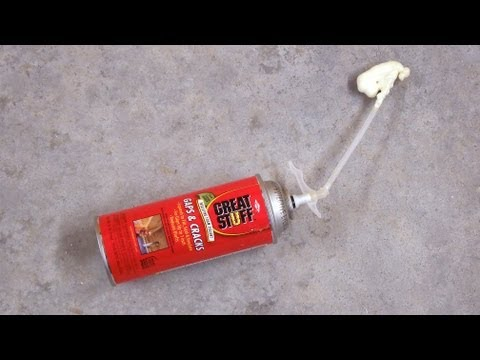 Reusing Spray Foam Cans No.1 - Tips & Tricks