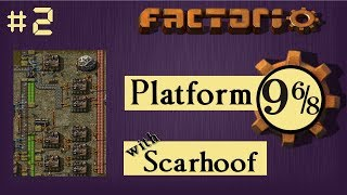 Factorio Multiplayer: Platform 9 6/8 EP 2 - Science! | Train & Belt World, Gameplay, Lets Play