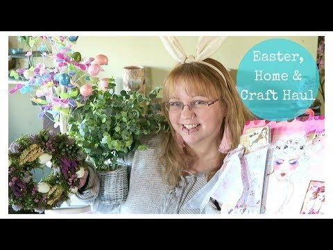 Easter, homeware & craft haul from Homesense and The Range