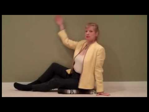 Best Relief of Hot Flashes and Night Sweats With an Easy Yoga Inversion