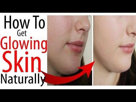 INSTANT Skin Brightening At Home Naturally/How To Get Glowing Skin Naturally
