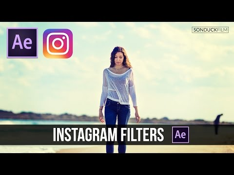 After Effects Tutorial: Create Instagram Filters for Video - Color Grading