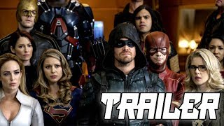 """The hype is real! """"Crisis on Earth X"""" Crossover Trailer 3 Breakdown"""