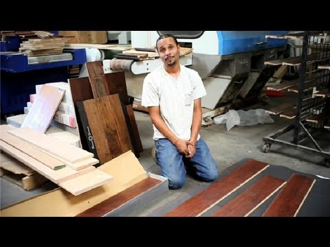 How to Install Floating Hardwood Flooring on Concrete : Wood Floor Installation